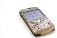 Telefono della mora Fotografie Stock