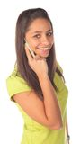 telefono della ragazza Immagine Stock