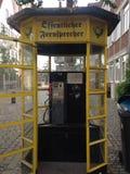 telefono della via fotografia stock