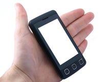 Telefono delle cellule dello schermo attivabile al tatto Immagini Stock