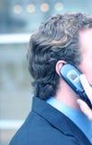 Telefono delle cellule di affari Immagine Stock