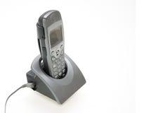 Telefono dello scrittorio Fotografia Stock