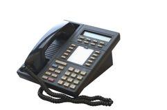 Telefono dello scrittorio di affari Fotografie Stock