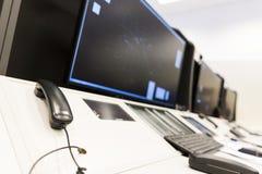 Telefono di autorità di servizi del traffico aereo immagine stock libera da diritti