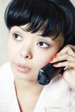 telefono di colloquio Immagini Stock Libere da Diritti