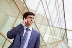 telefono di conversazione Immagini Stock