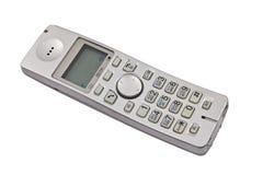Telefono di Dect isolato sul bianco Fotografia Stock