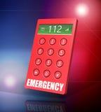 Telefono di emergenza Fotografie Stock