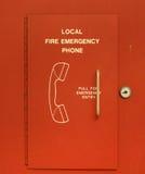 Telefono di emergenza fotografia stock libera da diritti