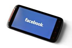 Telefono di Facebook Fotografia Stock Libera da Diritti