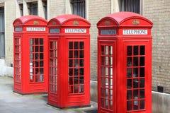 Telefono di Londra Fotografia Stock
