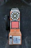 Telefono di paga d'annata Immagine Stock