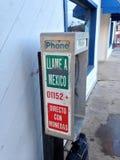 Telefono di paga di Los Angeles Fotografie Stock