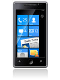 Telefono di Samsung Omnia Fotografia Stock Libera da Diritti