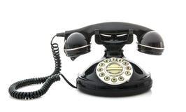 Telefono di vecchio stile fotografia stock libera da diritti