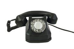 Telefono di vecchio stile Fotografie Stock