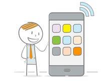 Telefono di Wifi Immagini Stock Libere da Diritti