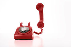 Telefono dial-up immagini stock