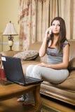 Telefono domestico Fotografia Stock