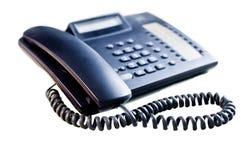 Telefono - isolato Fotografia Stock Libera da Diritti