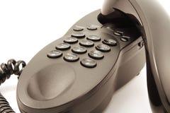 Telefono legato con corde fotografie stock