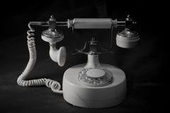 Telefono metallico d'annata immagine stock libera da diritti