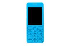 Telefono mobile blu Fotografia Stock Libera da Diritti