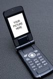 Telefono mobile cellulare 03 di tecnologia fotografia stock libera da diritti