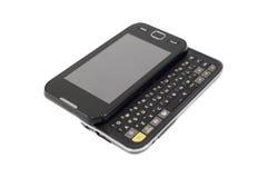 Telefono mobile con la tastiera Fotografie Stock Libere da Diritti