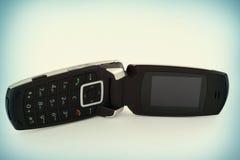 Telefono mobile con un alettone Immagini Stock