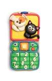 Telefono mobile del Plasticine Fotografia Stock