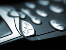 Telefono mobile di affari immagini stock