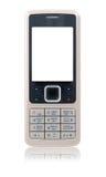Telefono mobile di affari (isolato) Immagini Stock Libere da Diritti