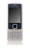 Telefono mobile di affari (isolato) Fotografie Stock Libere da Diritti