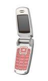 Telefono mobile di fascino (isolato) Fotografia Stock