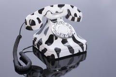 Telefono nel retro stile Fotografie Stock