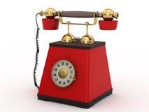 Telefono nel retro stile illustrazione vettoriale
