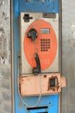 Telefono pubblico Fotografia Stock Libera da Diritti