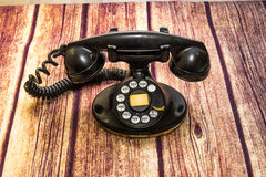 Telefono rotativo antico fotografia stock