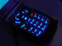 Telefono scuro delle cellule Fotografia Stock