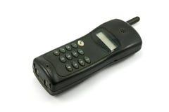 Telefono senza cordone nero Fotografie Stock
