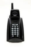 Telefono senza cordone nero Fotografia Stock