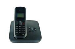 Telefono senza fili con la culla Fotografie Stock Libere da Diritti
