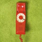 Telefono sul pavimento. Fotografia Stock Libera da Diritti