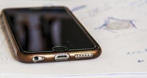 Telefono vecchio immagini stock libere da diritti