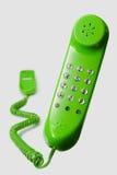 Telefono verde Fotografia Stock Libera da Diritti