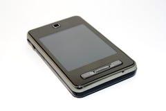 telefonpekskärm Arkivbild