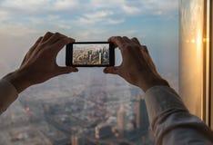 Telefonphotographie Stockfotografie
