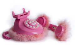 telefonpink Royaltyfria Bilder