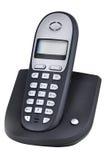Telefonradioapparat (getrennt auf Weiß) Stockfotografie